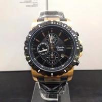 jam tangan alexandre christie AC pria original rosegold hitam