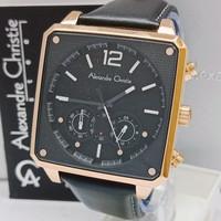 Jam tangan pria/jam tangan alexandre christie original AC 6484 MCBG