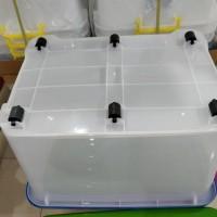 BIG SALE BOX CONTAINER ( KOTAK KONTAINER ) PLASTIK 130 LITER ( BY