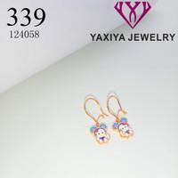 Anting Anak Karakter perhiasan imitasi lapis emas 339