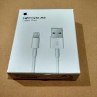 Kabel Data Apple Iphone 5 Lightning Original 100%