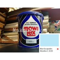 Mowilex Emulsion Blue Escapades Tinting Cat Tembok Interior