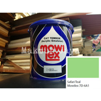 Mowilex Emulsion Safari Teal Tinting Cat Tembok Interior
