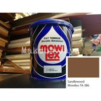 Mowilex Emulsion Sandlewood Tinting Cat Tembok Interior