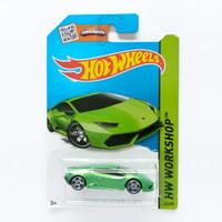 Hot Wheels Lamborghini Huracan LP 610-4 Hijau HW Workshop Hotwheels