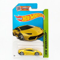 Hot Wheels Lamborghini Huracan LP 610-4 Kuning HW Workshop Hotwheels