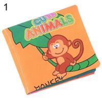 Buku Bantal Kain Bahasa Inggris Mainan Edukasi Bayi Softbook