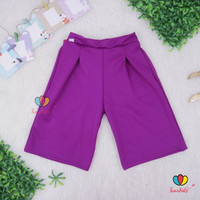 Kulot Scuba Premium Uk. 5-9 th / Celana Pants Anak Perempuan Murah