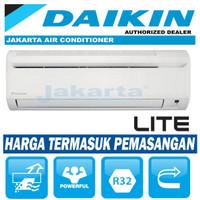 AC DAIKIN 1/2 PK - FTV 15 ( MALAYSIA ) + PEMASANGAN