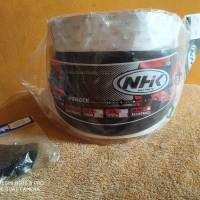 flat visor nhk gp pro ring dark smoke