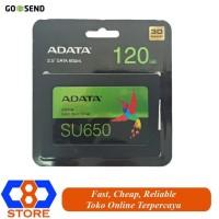 HARDDISK SSD 120GB SSD ADATA 120GB SU650 SATA3 RESMI ORIGINAL
