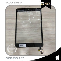 TOUCHSCREEN IPAD MINI 1&2 + IC Digitizer Kaca Gorilla Glass LAYAR ORI