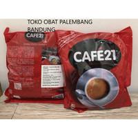 CAFE21 2 IN 1 INSTANT COFFEEMIX 25 STICKS GOLD ROAST KOPI CAFE 21