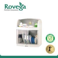 Rovega Rak Piring Plastik Premium Dish Cabinet Plado (Food Grade)