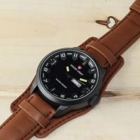jam tangan pria swis army dabbel strap