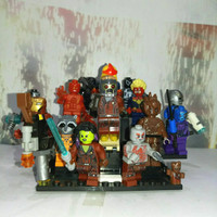 minifig GOTG guardian of the galaxy marvel avengers groot lego kw