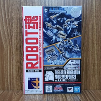 RODA Robot Spirits The Earth Federation Force Weapon Set Ver ANIME