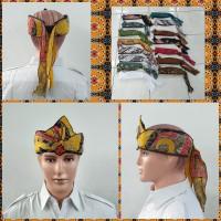 Topi Blankon Blangkon Motif Corak Batik Remaja Dewasa Khas Jawa