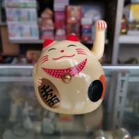 Kucing Mini Maneki Neko Lucky Cat Lucu FS061903