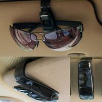 Eyeglasses / Sunglasses Clip Universal Tempat Holder Kacamata di Mobil