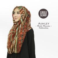 Tusong ASHLEY by Luulu Scarf Jilbab Pashmina Motif Import Paris