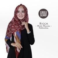 Terlaris RICCA - by Luulu Scarf - Jilbab Pashmina Motif Impor Paris