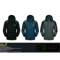 Jaket Gunung Outdoor Jack Wolfskin 1303 Goretex Waterproof Import