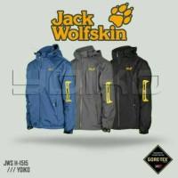 Jaket Gunung Outdoor Jack Wolfskin 1515 Goretex Waterproof Import