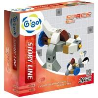 Gigo Space Mini Educational Toys 3  Mainan Edukasi Laki Laki