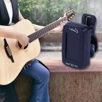 Tuner Digital LCD Mini Model Clip-on Dapat Diputar untuk Gitar / Bass