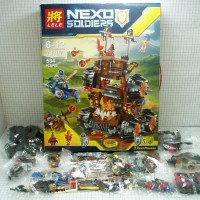 MnA LEGO LELE NEXO SOLDIER HIGH TRACTOR 79307