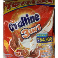 Ovaltine 3 In 1 Susu Coklat 18 Stick