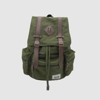 Tas Ransel Pria Chicago Olive - Backpack - Journey Bag