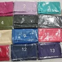 Baru ( Surabaya ) Segiempat Ombre Glitter Kusut / Jilbab Segiempat /