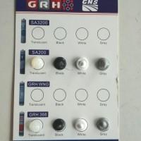 LEM KACA/SILICONE SEALANT GRH368 ACID/ASAM CLEAR-BLACK-WHITE