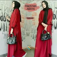 Pakaian Baju Busana Muslim Wanita PAKISTAN ABAYA Gamis Jumbo Terbaru