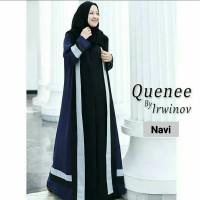 Pakaian Baju Busana Muslim Wanita Gamis Syari QUEENE Dress Terbaru