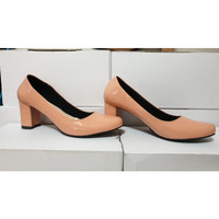 Pantofel Heels Salem Wanita / Sepatu Kerja Salem Wanita / Heels Kantor - 37