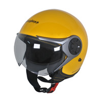 Cargloss YRM Micrometric Buckle Helm Half Face - Exotic Yellow