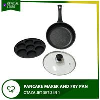 Loyang Cetakan Kue Lumpur Apem Pancake Martabak - OTAZA JET SET 2 IN 1