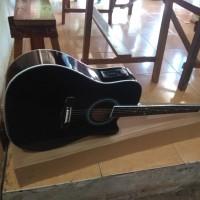 Gitar akustik elektrik jumbo new