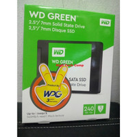 SSD WD Green 2.5inch For PC & Laptop 240 GB RESMI WPG
