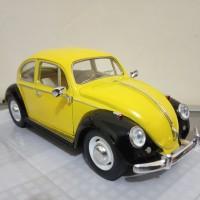 diecast mobil VW Volkswagen Beetle classic 1967 miniatur mobil kodok