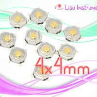 Switch 4x4xmm 4*4mm Tactile Push Button SMD SMT Switch