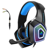 Headphone V1 Hunterspider Gaming Kualitas Supreme