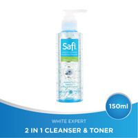 SAFI White Expert Cleanser 2IN1 Cleanser & Toner 150ml
