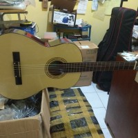 Gitar nilon akustikan