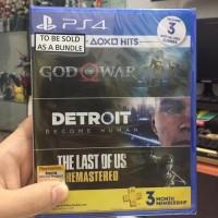 God of War 4 Ps4 Detroit The last of us BD game bundle hits PS 4