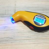 Pengukur Tekanan Ban Mobil Digital / Tire Gauge + LED