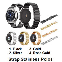 Samsung Gear S2 Classic R732 - Strap Stainless Steel Polos Tali Band